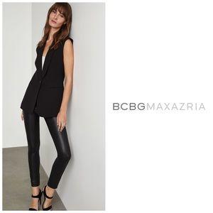 BCBGMaxAzria Sleeveless Tuxedo Vest